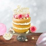PME Cake Topper Cutter Happy Birthday - Script_