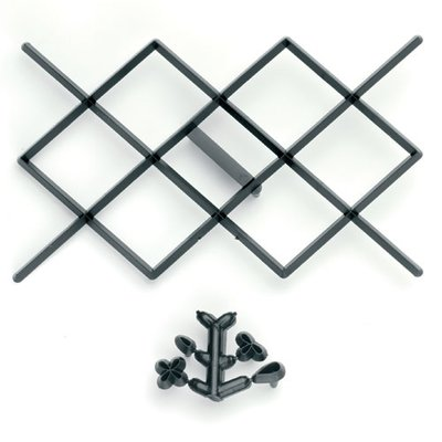 Patchwork Diamond Design Kusseneffect