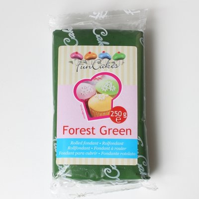 FunCakes Rolfondant Groen -Forest Green- -250g-