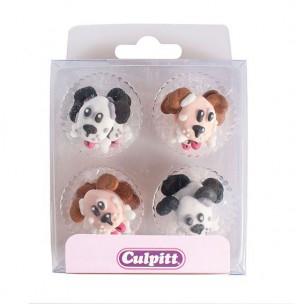 Culpitt Suikerdecoratie Honden pk/12