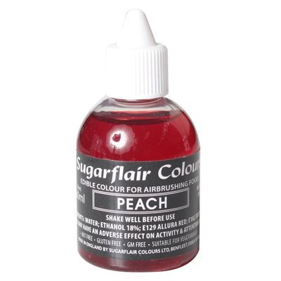 Sugarflair Airbrush Colouring -Peach- 60 ml