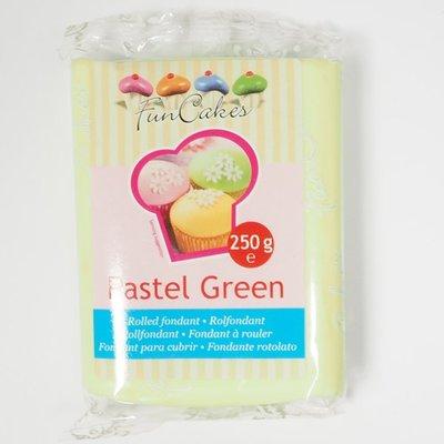FunCakes Rolfondant Groen -Pastel Green- -250g-