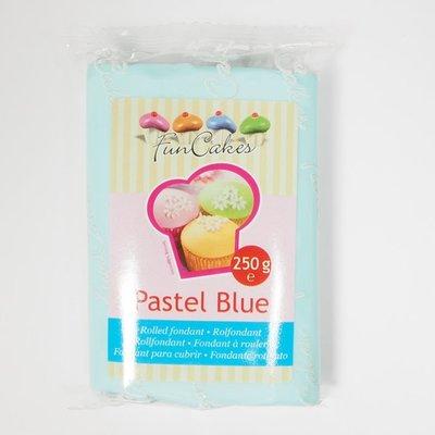 FunCakes Rolfondant Blauw -Pastel Blue- -250g-