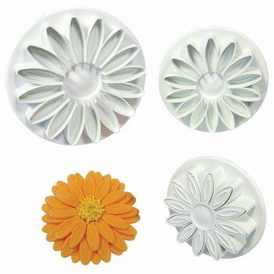 PME Sunflower/Daisy/Gerbera Plunger Cutter set/3