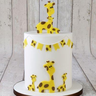 FMM Mummy & Baby Giraffe Cutter Set/2