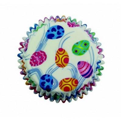 Cupcake cups PME paaseieren 60 stuks.