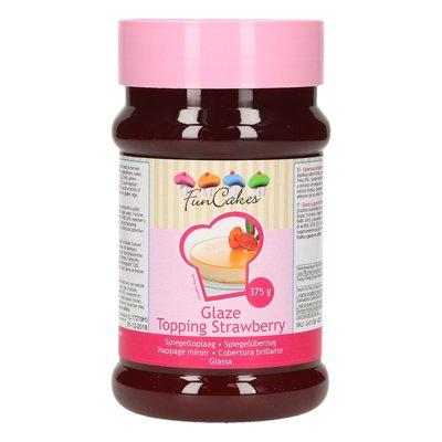 FunCakes Glaze Topping Strawberry /Aardbei-375g