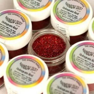 RD Decorative Sparkles Hologram - Red -5g-