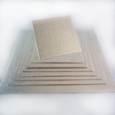 FunCakes Cake Board Vierkant 15 x 15 cm