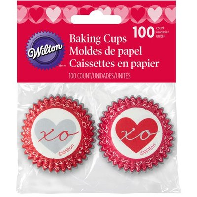 Wilton Mini Baking Cups Heartfelt Confections pk/100
