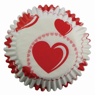 PME Baking cups Heart pk/60