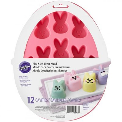 Wilton Silicone Petite Treat Mold -Bunny-