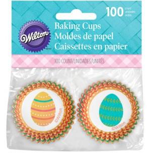 Wilton Mini Baking Cups Eggclectic pk/100