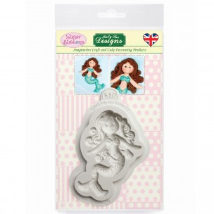 Katy Sue Mould Sugar Buttons - Little Mermaid