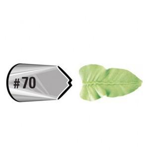 Wilton Decorating Tip #070 Leaf Carded