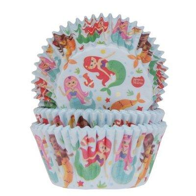 HOM Baking Cups Zeemeermin pk/24