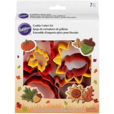 Wilton Cookie Cutter Autumn Set/7