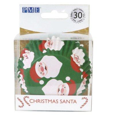 PME Foil Baking Cups Christmas Santa