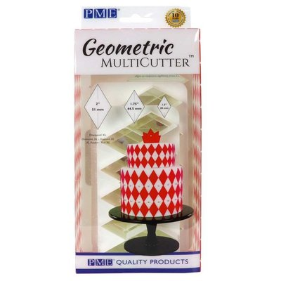 PME Geometric Multicutter Diamond XL Set/3