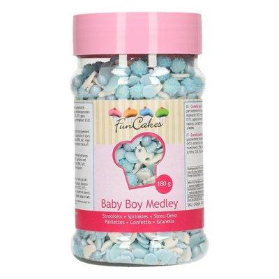 FunCakes Sprinkle Medley -Baby Boy- 180g