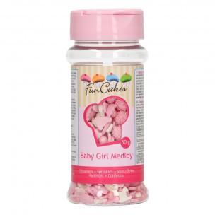 FunCakes Sprinkle Medley -Baby Girl- 50g