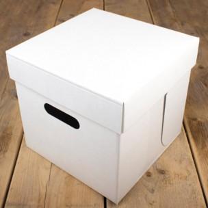 FunCakes Taartdoos -Blanco 25.5x25.5x 25cm- pk/1