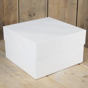 1 FunCakes Taartdoos -Blanco 20x20x15cm