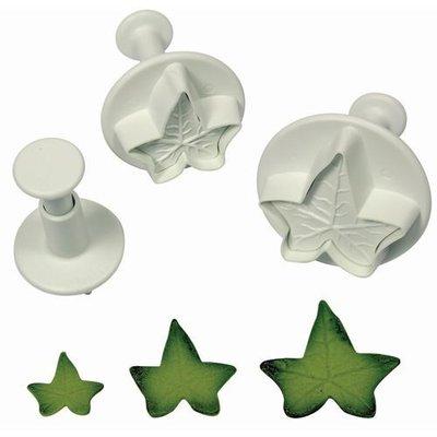 PME Ivy Leaf Plunger Cutter set/3