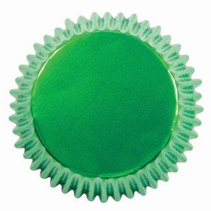 PME Baking Cups Metallic Green pk/30