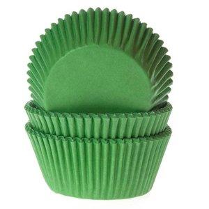 HOM Baking cups Gras groen - pk/25