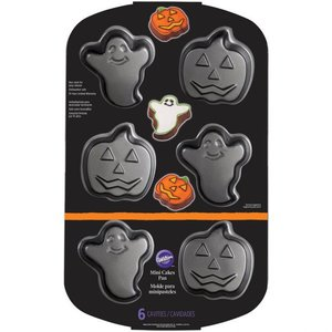 Wilton Ghost & Jack-O-Latern Mini Cake Pan