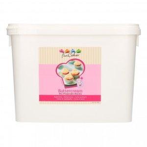 FunCakes Mix voor Botercrème 4,5 kg - Emmer
