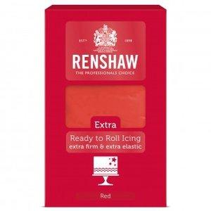 Renshaw Rolfondant Extra 1kg -Red-