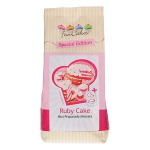 FunCakes Special Edition Mix voor Ruby Cake 400gr